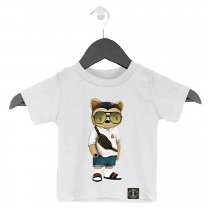 Kid's Tee Teddy Newschool Boy
