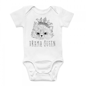 Newborn Bodysuit Drama Queen