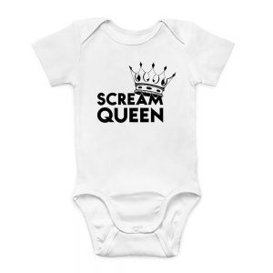 Newborn Bodysuit Scream Queen