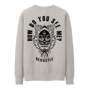 How Do You See Me Hoodie Grey