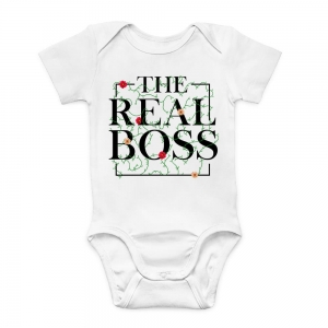 Newborn Bodysuit The Real Boos